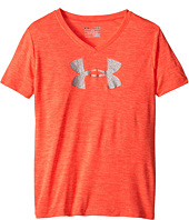 Under Armour Kids - Novelty Big Logo S/S V-Neck Top (Big Kids)