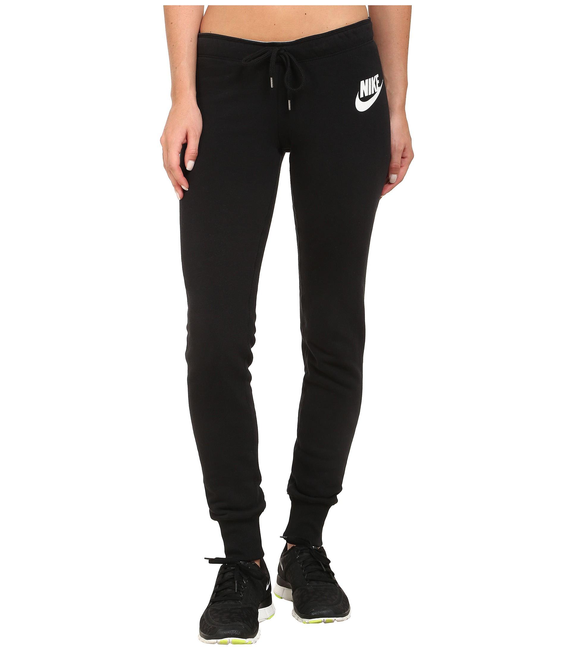 Popular Nike Rally Tight Womens Joggers Amp Sweatpants Sale BlackWhite  Nike