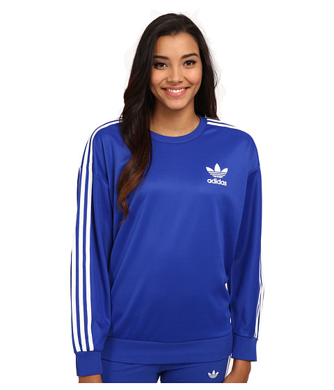 adidas Originals 3-Stripes Sweatshirt - Zappos.com Free Shipping