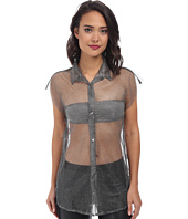 Gabriella Rocha - Jazz Mesh Button Up Top