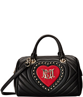 LOVE Moschino - Ribbed Bowler Bag