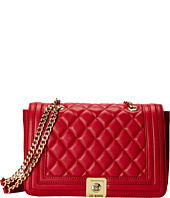 LOVE Moschino - Quilted Flap Vers Crossbody Bag
