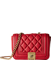 LOVE Moschino - Mini Quilted Flap Crossbody Purse