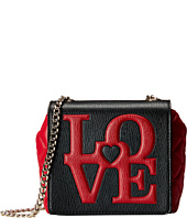 LOVE Moschino - Love Mini Flap Crossbody Bag