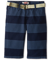 Levi's® Kids - Belted Flat Front Shorts (Big Kids)