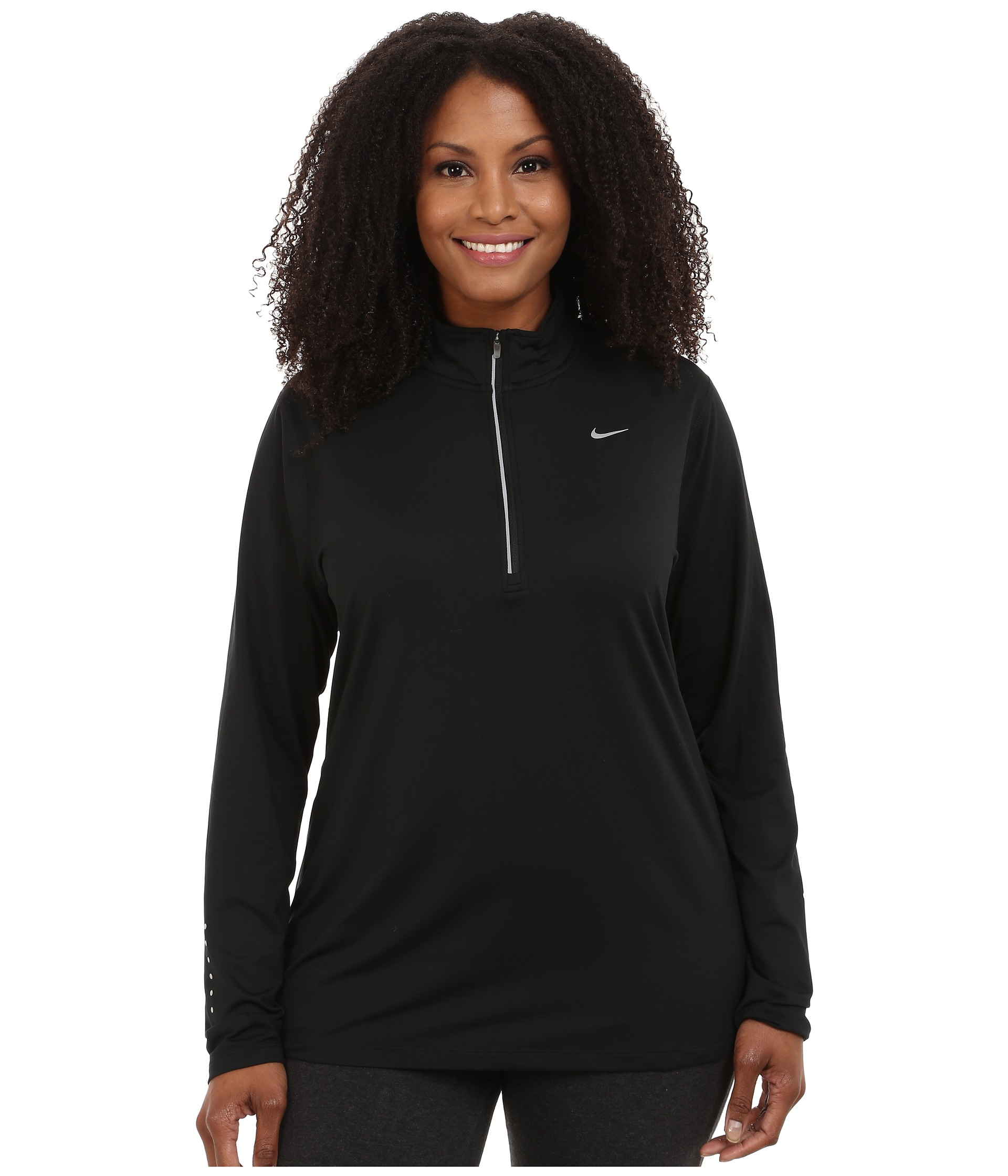 Nike dry element 1 4 zip running top size 1x 3x at for 3x shirts on sale
