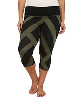 adidas - Performer Mid-Rise 3/4 Tights - Greater Than Bold Print