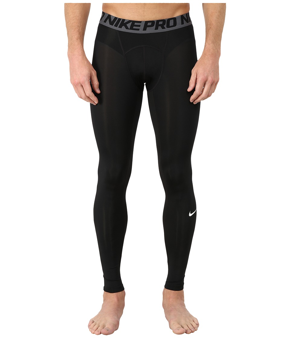 Nike Pro Cool Compression Tight (Black/Dark Grey/White) Men