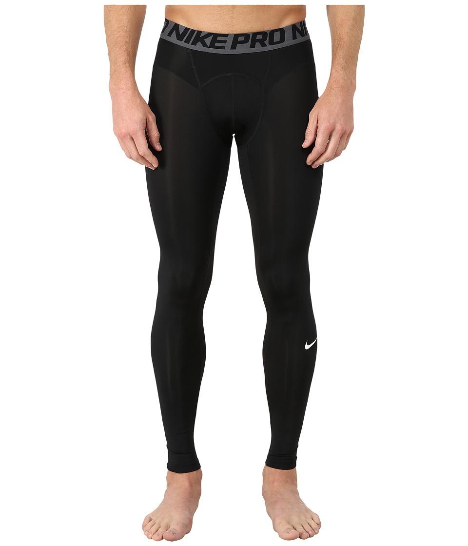 Nike Pro Cool Compression Tight (Black/Dark Grey/White) Men