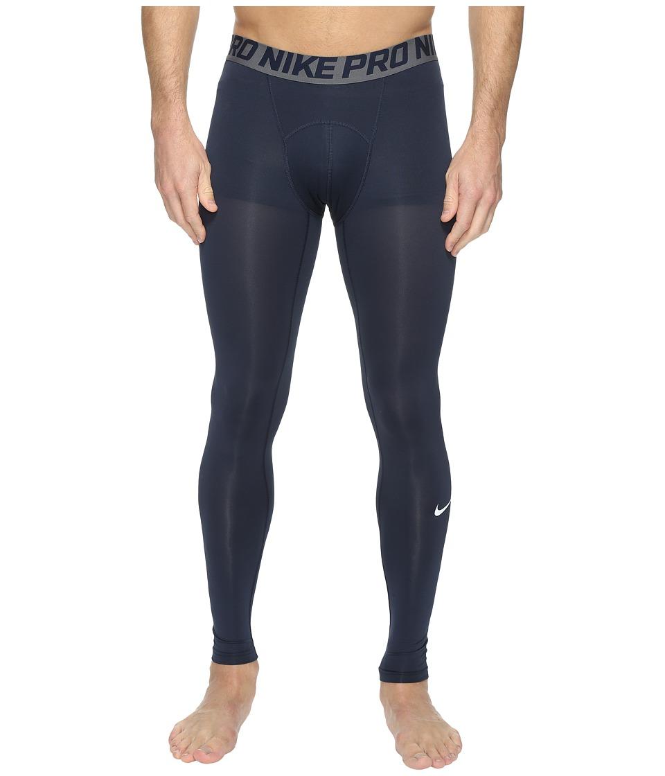 Nike Pro Cool Compression Tight (Obsidian/Dark Grey/Dark Grey) Men