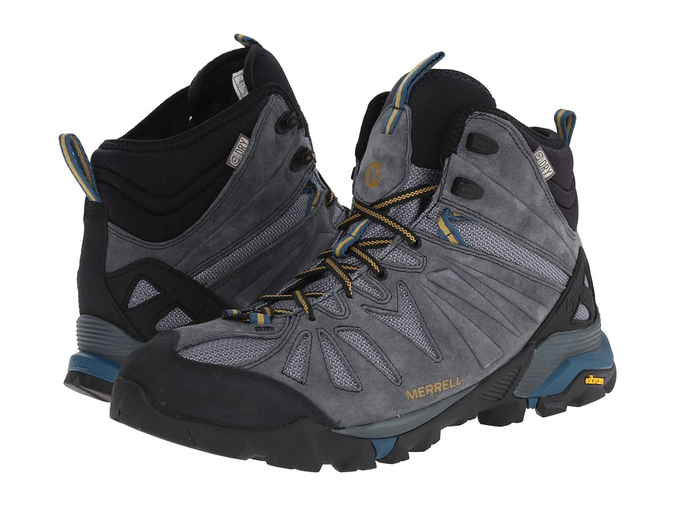 Merrell - Capra Mid Waterproof (Turbulence) Men