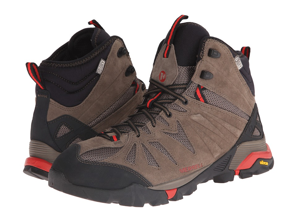 Merrell - Capra Mid Waterproof (Boulder) Men