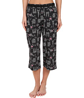Karen Neuburger - Le Boulevard Novelty Crop Pants