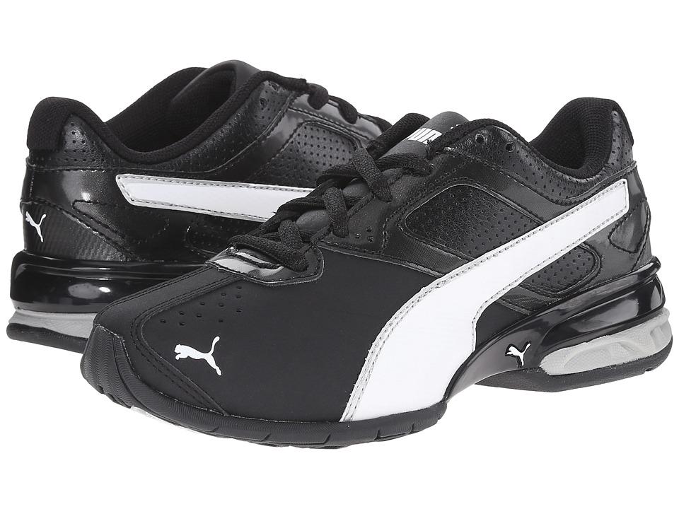 Puma Kids Tazon 6 SL (Little Kid/Big Kid) (Black/White/Puma Silver) Boys Shoes