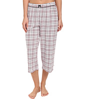 Karen Neuburger - Le Boulevard Plaid Crop Pants