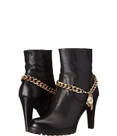 LOVE Moschino - 100 mm Heel Bootie with Chain