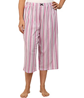 Karen Neuburger - Plus Size Le Boulevard Stripe Crop Pants