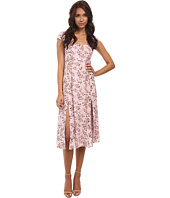 MINKPINK - Pink Floral Midi Dress