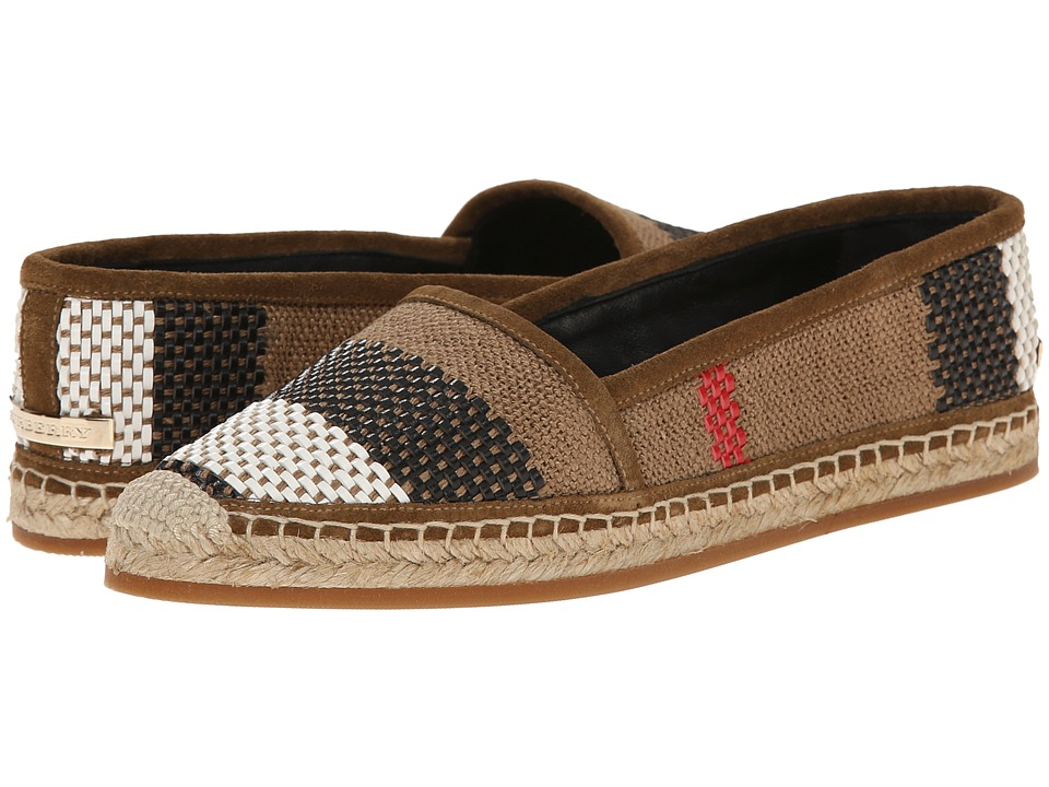Burberry Halyfield Classic Check Womens Flat Shoes