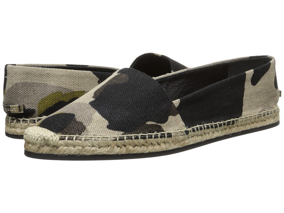 Burberry Hodgeson Heritage Stone Womens Slip on Shoes