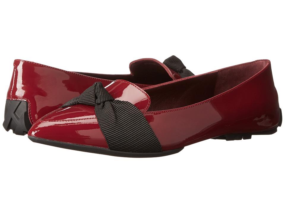 Burberry Haltonson Dark Crimson Womens Flat Shoes