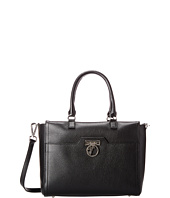 Versace Collection - Pebbled Leather Satchel