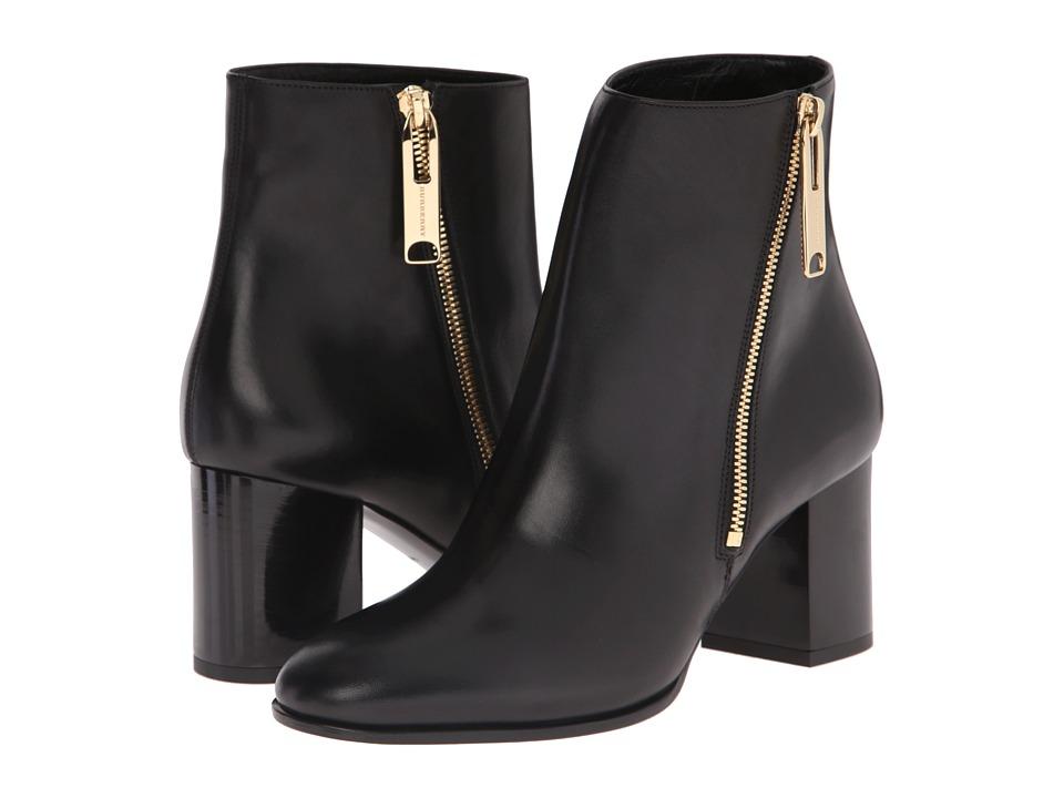 Burberry Allen Black Womens Zip Boots