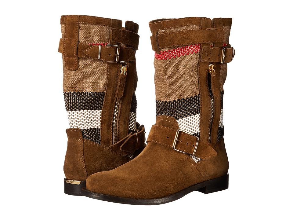 Burberry Grantstone Light Oak Brown Womens Boots