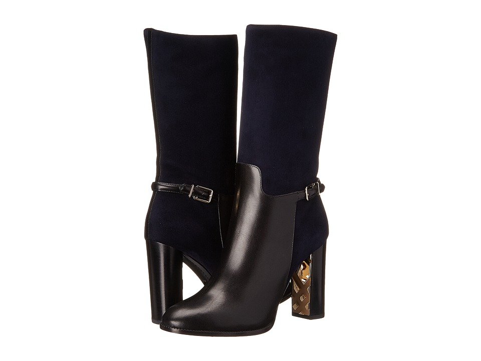 Burberry Marling Dark Pewter Blue Womens Boots
