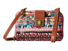 Sakroots Artist Circle Smartphone Crossbody (Orchid One World)