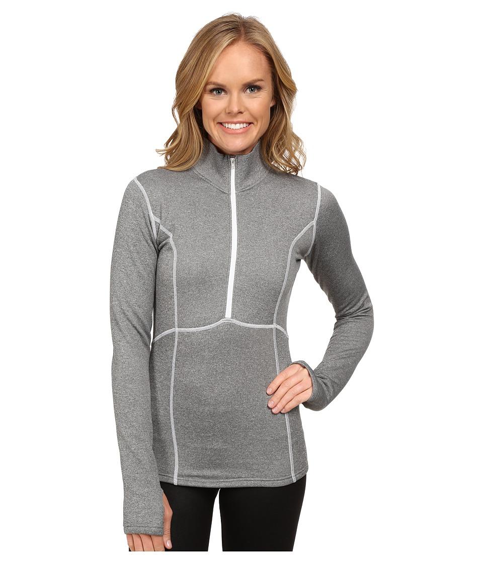 Obermeyer Splendid 150 Dri Core Top Heather Grey Womens Sweatshirt