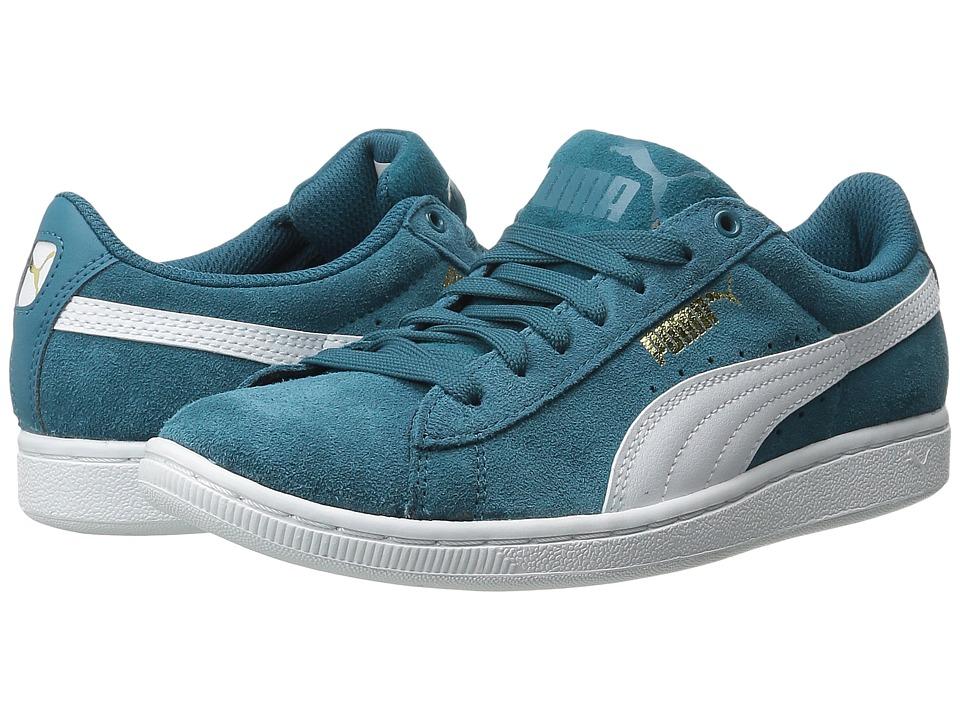 PUMA - Puma Vikky (Colonial Blue/White) Women's Shoes