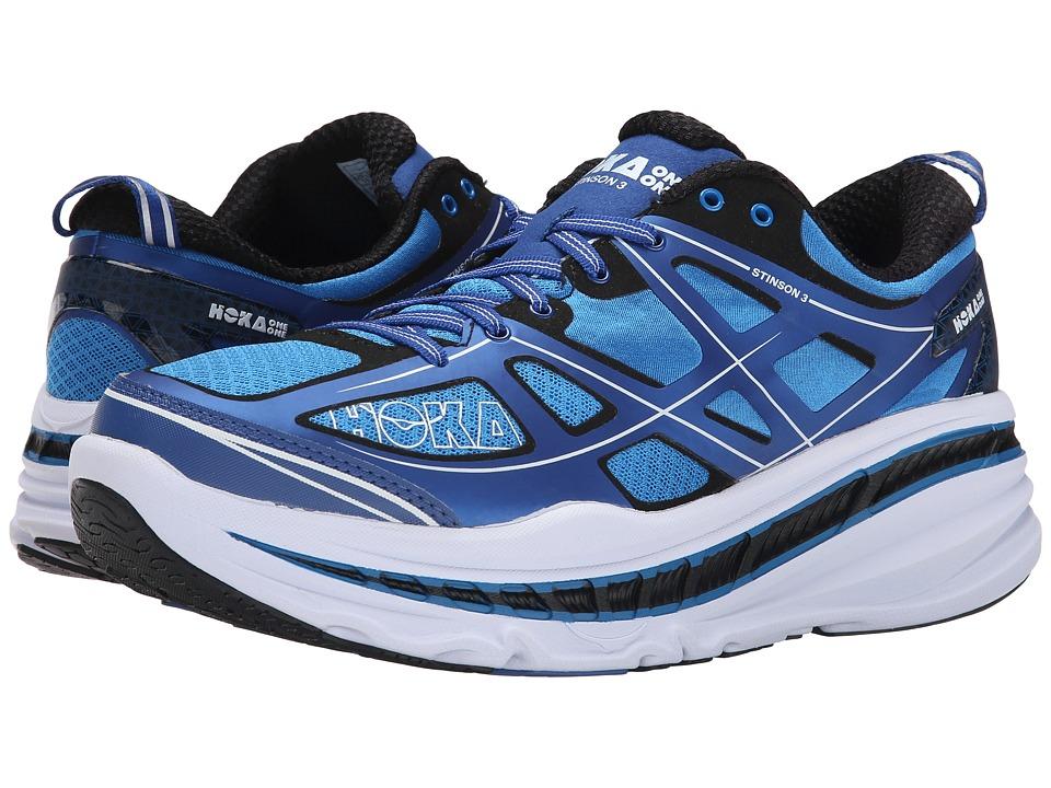 Hoka One One - Stinson 3 (True Blue/White) Mens Running Shoes