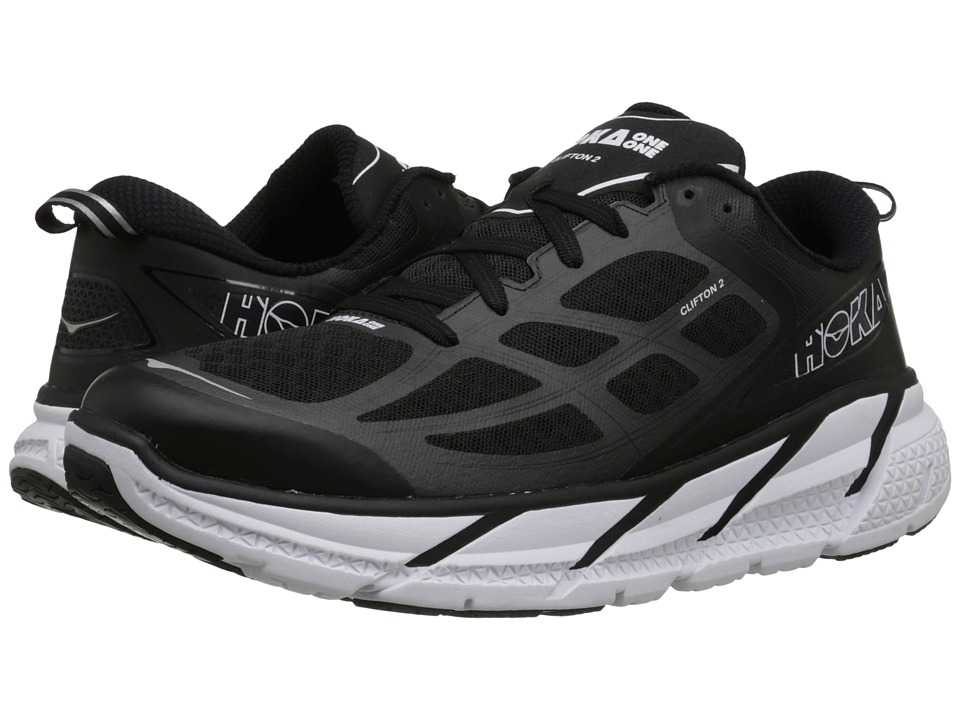 Hoka One One Clifton 2 Black/Anthracite Mens Running Shoes