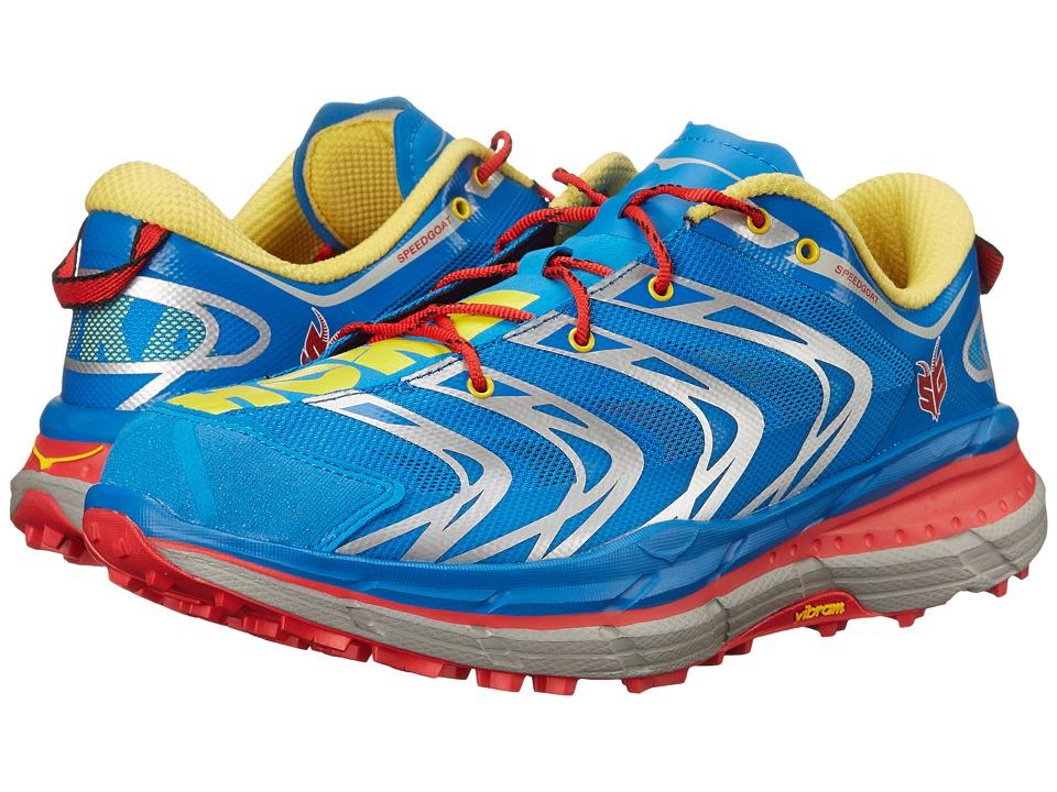 Hoka One One - Speedgoat (Navy Blue/Empire Yellow) Mens Running Shoes
