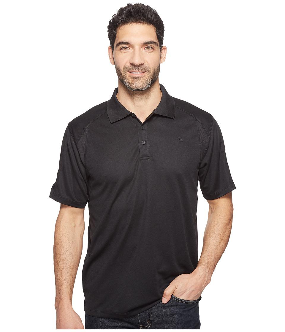 Ariat - AC Polo (Black) Mens Clothing