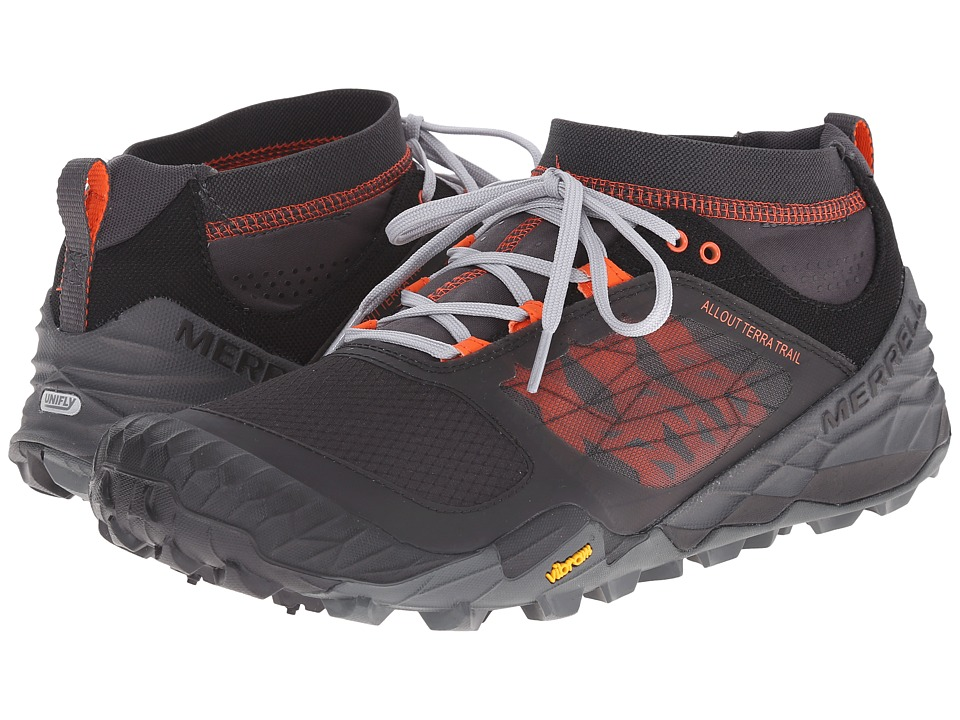 Merrell - All Out Terra Trail (Black/Orange) Men