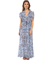 Seafolly - Inked Stripe H2O Maxi Cover-Up
