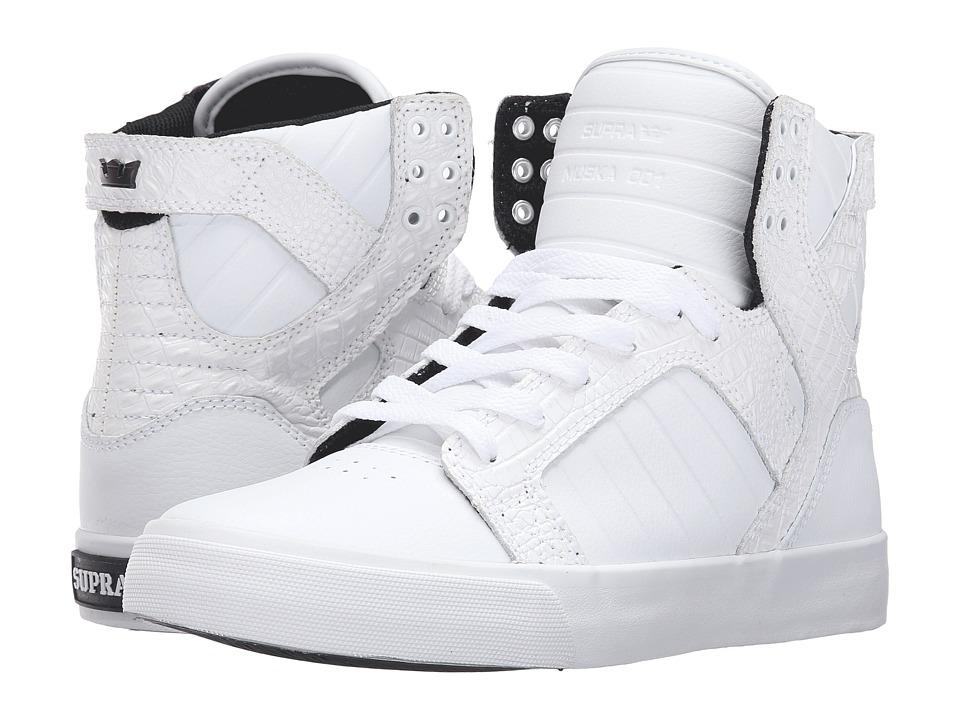 Supra Skytop (White Leather) Women