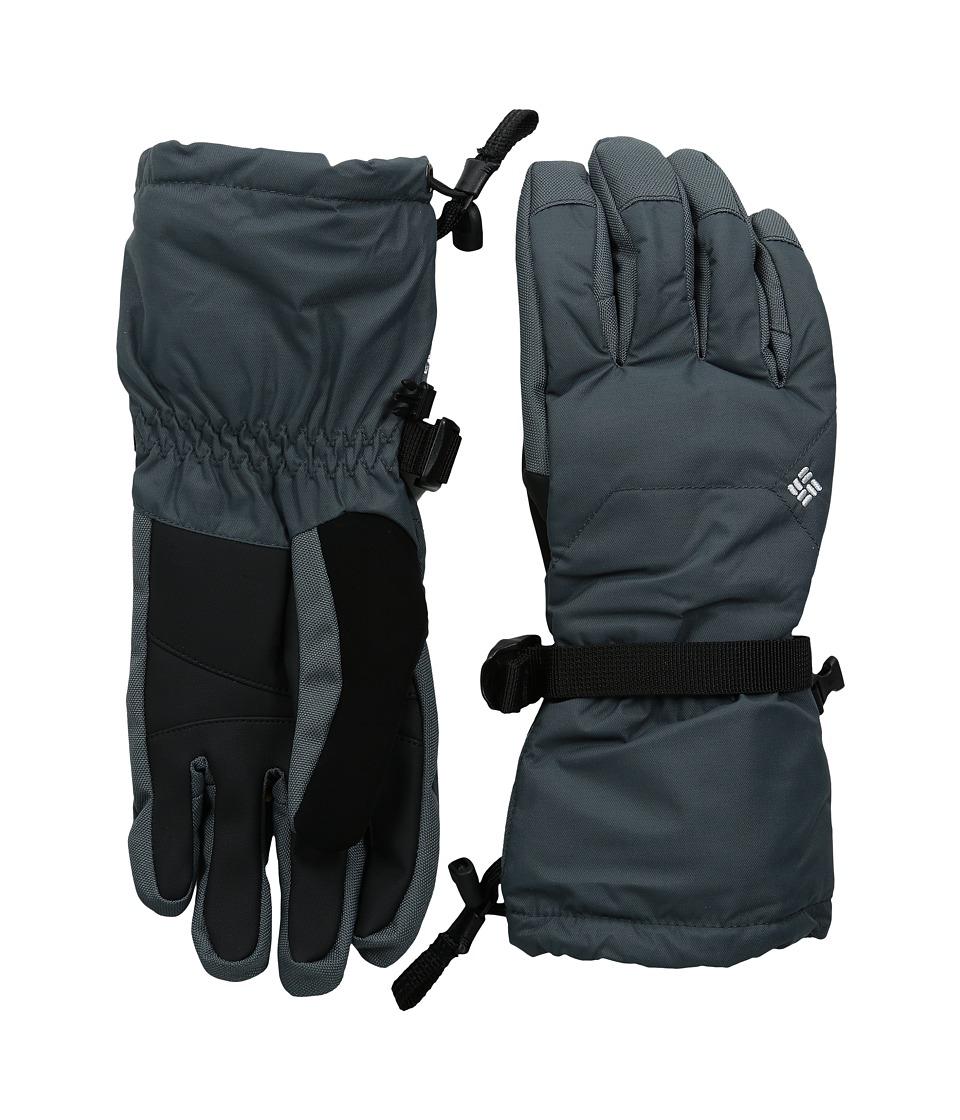 Columbia Whirlibirdtm Ski Glove (Graphite) Extreme Cold Weather Gloves