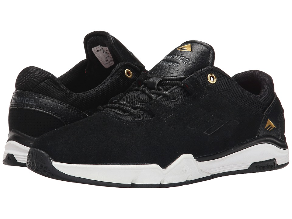 Emerica - The Brandon Westgate (Black/White/Gold) Men