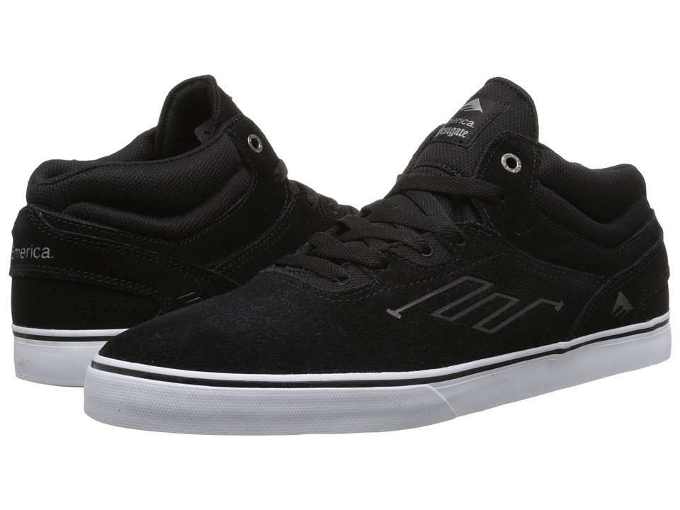 Emerica The Westgate Mid Vulc (Black/White) Men