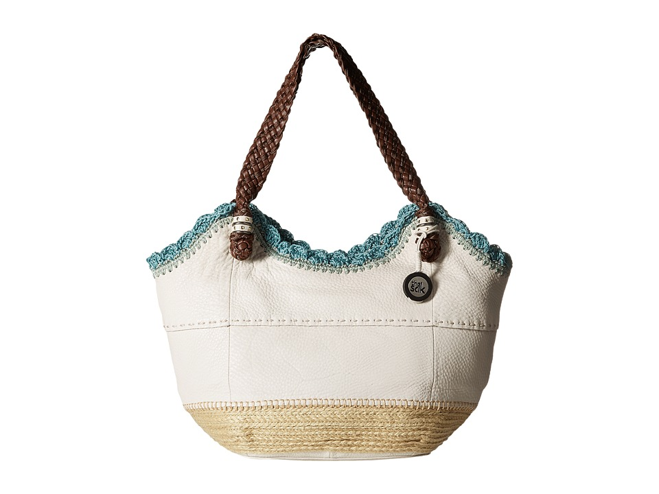 The Sak - Indio Satchel (Stone Espadrille) Shoulder Handbags