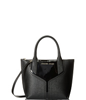 Armani Jeans - Patent and Saffiano Convertible Handbag