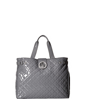 Armani Jeans - Quilted Patent Large Tote