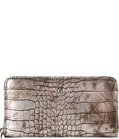 Armani Jeans - Croc Printed Zip Wallet