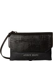 Armani Jeans - Lizard Patent Clutch