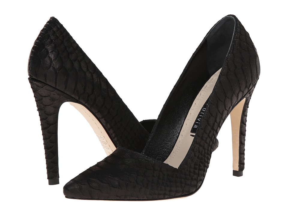 Alice Olivia Dina Black High Heels
