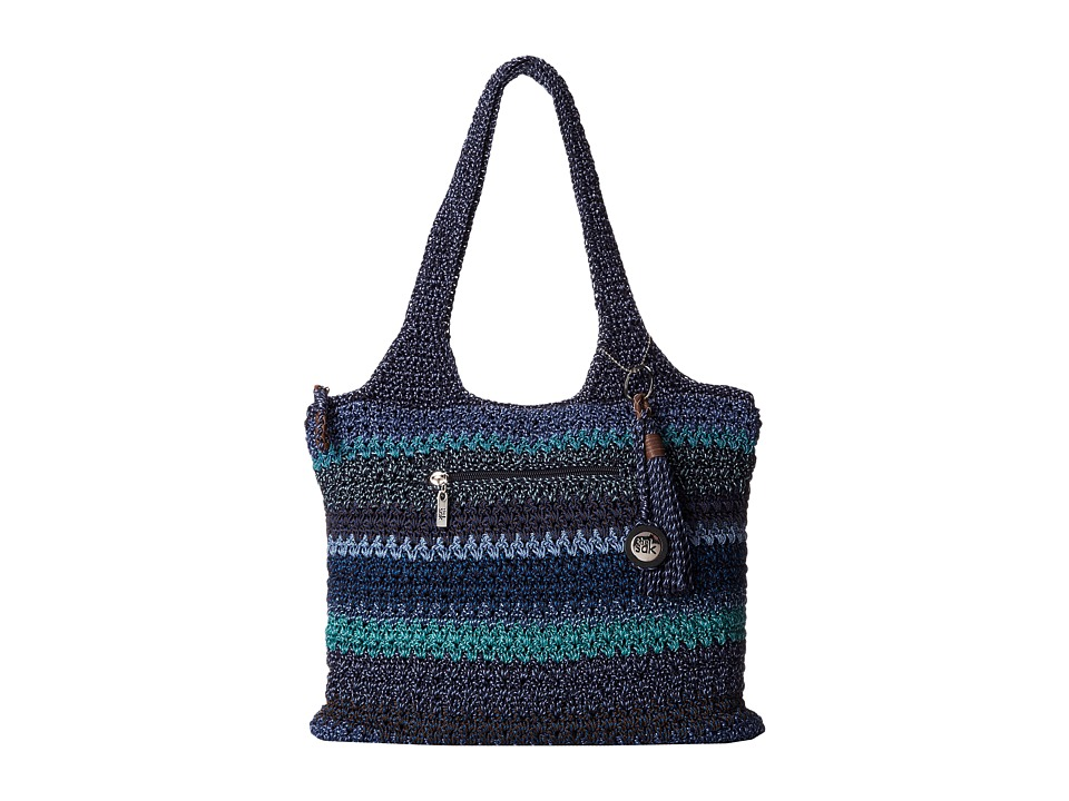 The Sak - Casual Classics Large Tote (Neptune Stripe) Tote Handbags