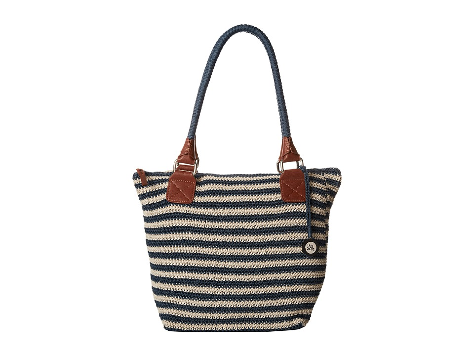 The Sak - Cambria Large Tote (Vintage/Eggshell Stripe) Shoulder Handbags